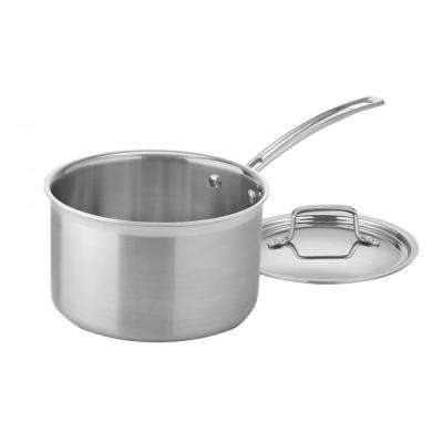 MultiClad Pro 4 Qt. Saucepan with Cover