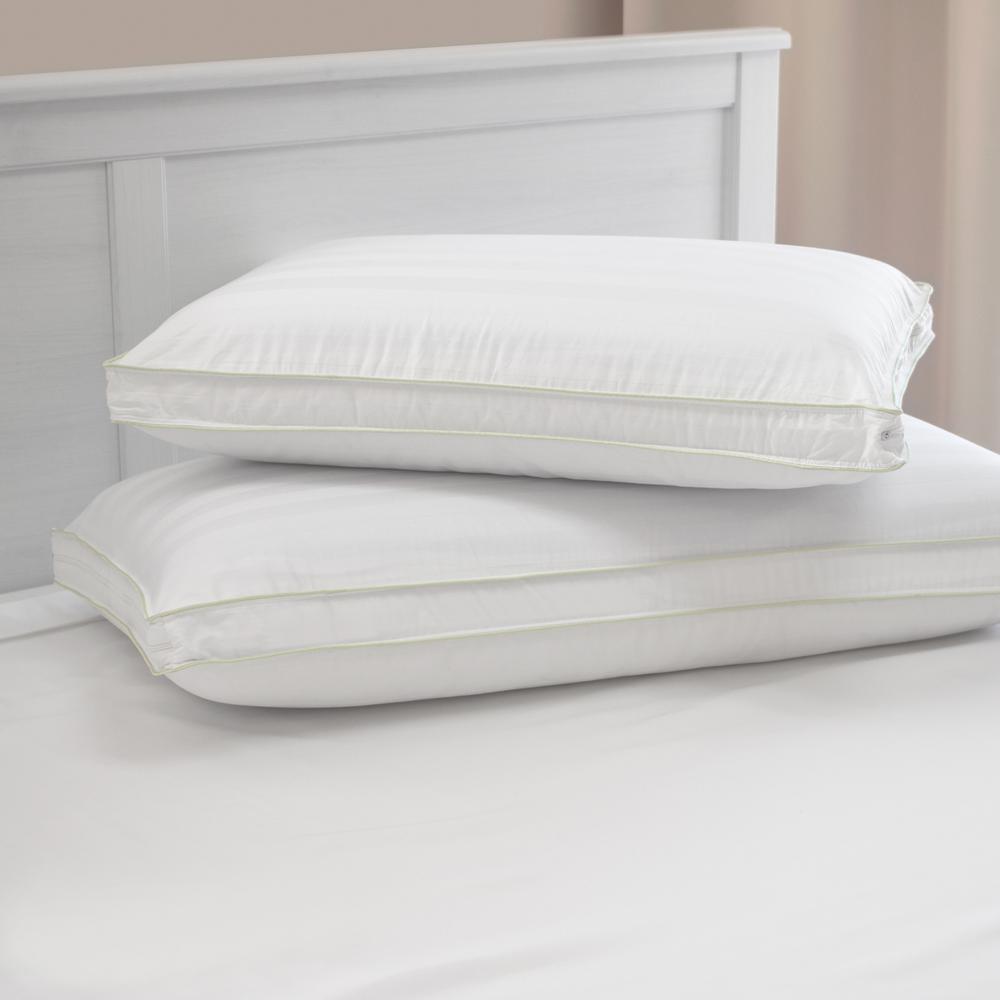Adjustable ComfortCare Memory Foam and Fiber Standard Pillow