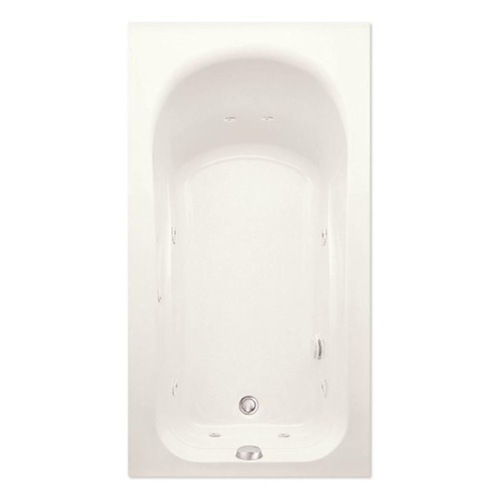 Dossi 32Q 5 ft. Right Hand Drain Acrylic Whirlpool Bath Tub
