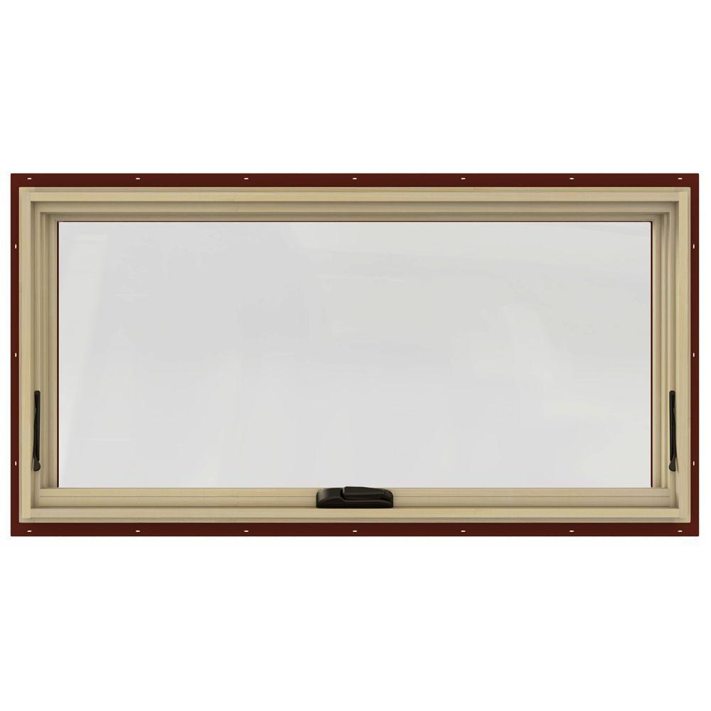 48.75 in. x 20.75 in. W-2500 Awning Clad Wood Window