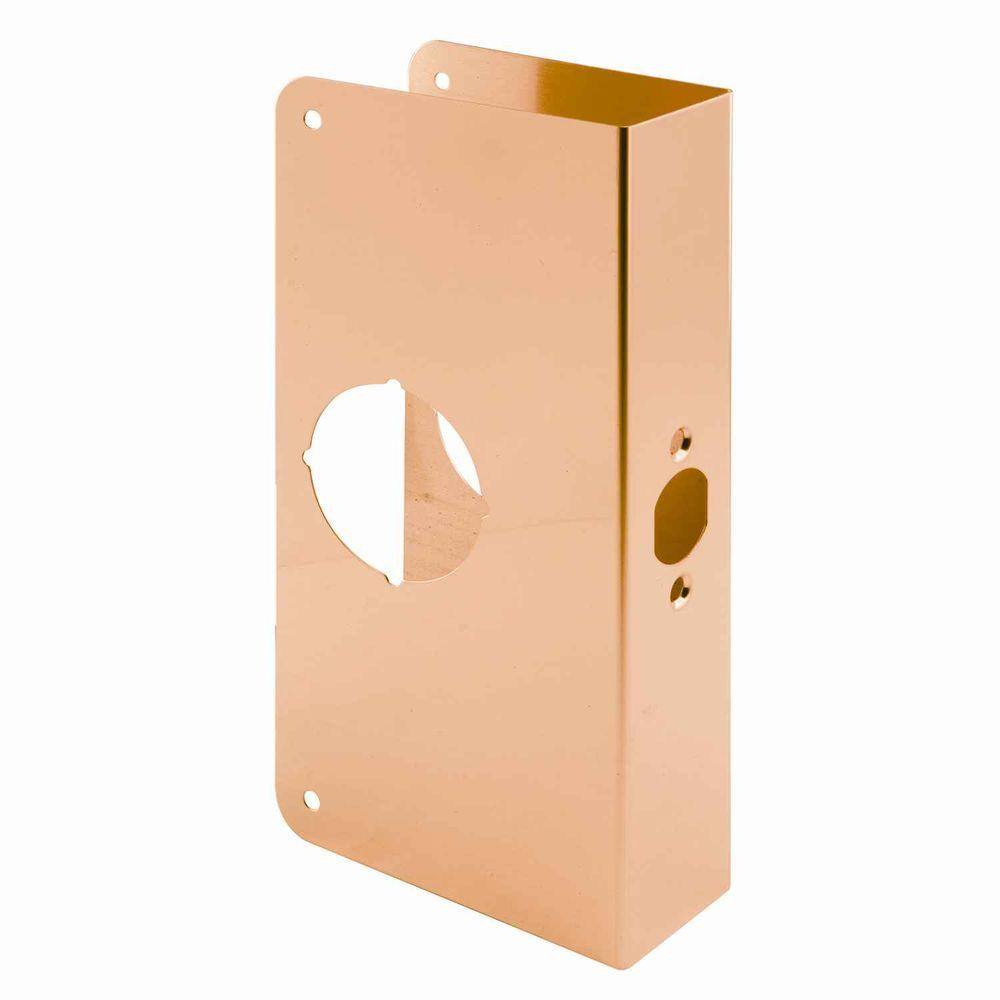 Prime Line Brass Lock And Door Reinforcer U 9550 The