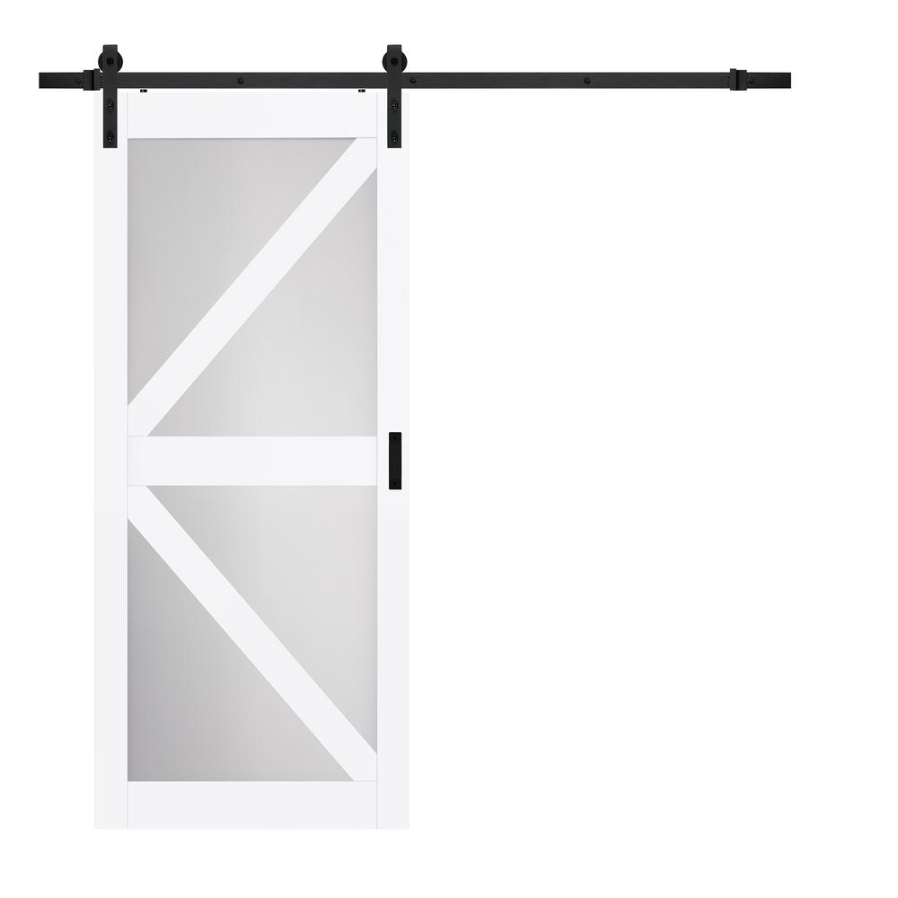 frosted glass barn doors. Bright White MDF Frosted Glass K Design Barn Doors