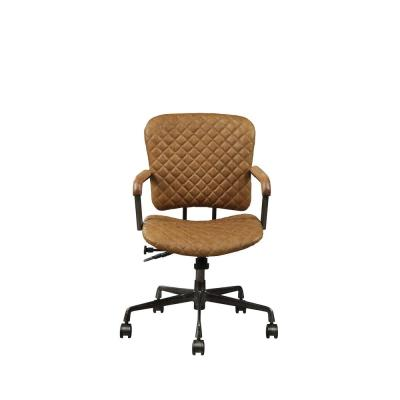 Josi Coffee Top Grain Leather Executive Office Chair