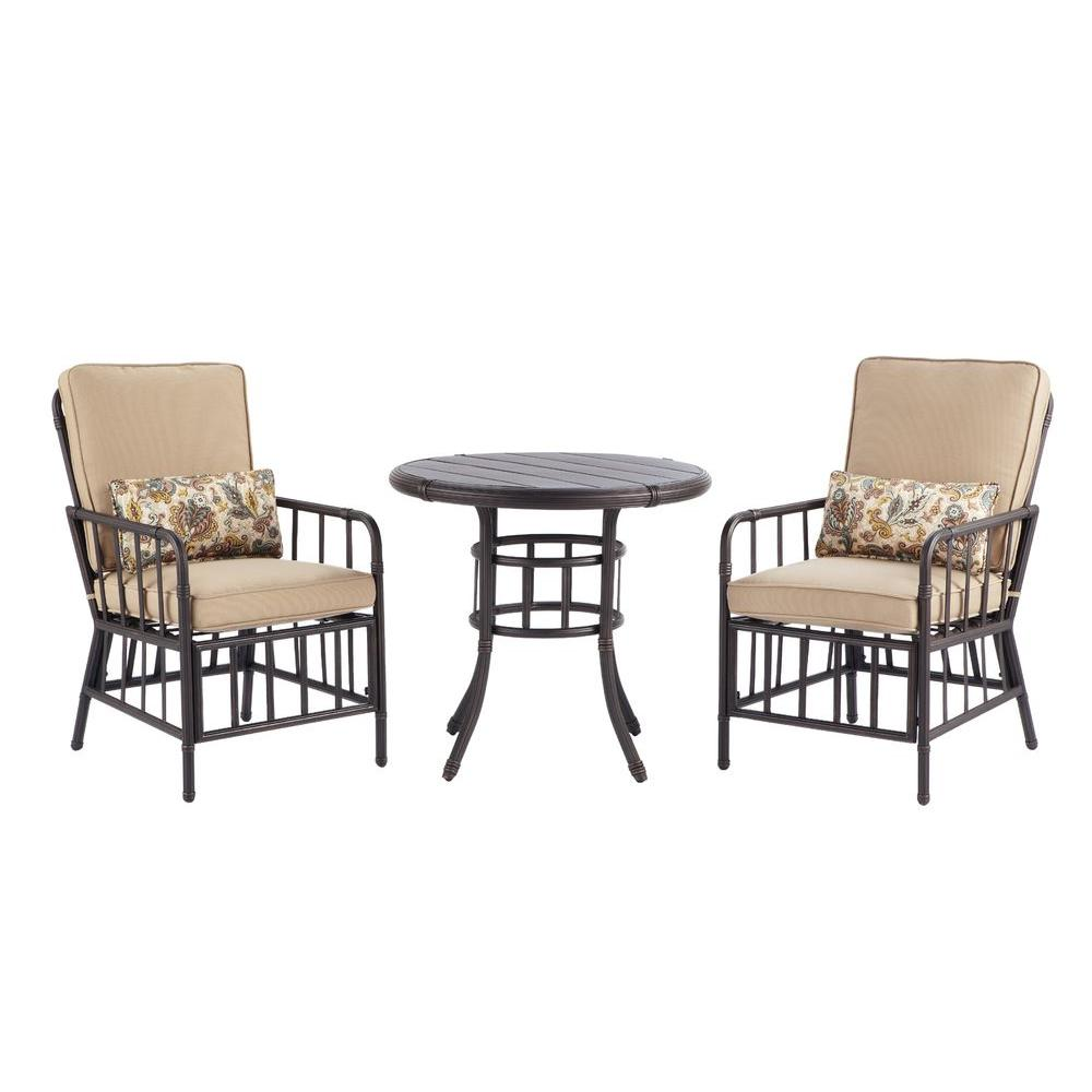 Martha Stewart Living Bryant Cove 3-Piece Patio Bistro Set