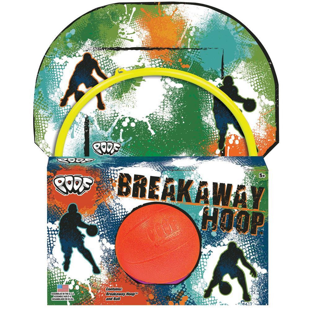 POOF-SLINKY INC. Over The Door Breakaway Basketball Hoop