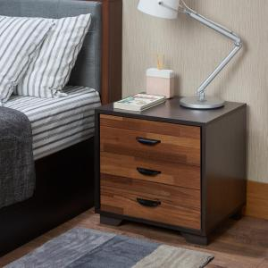 Acme Furniture Eloy Walnut Nightstand by Acme Furniture