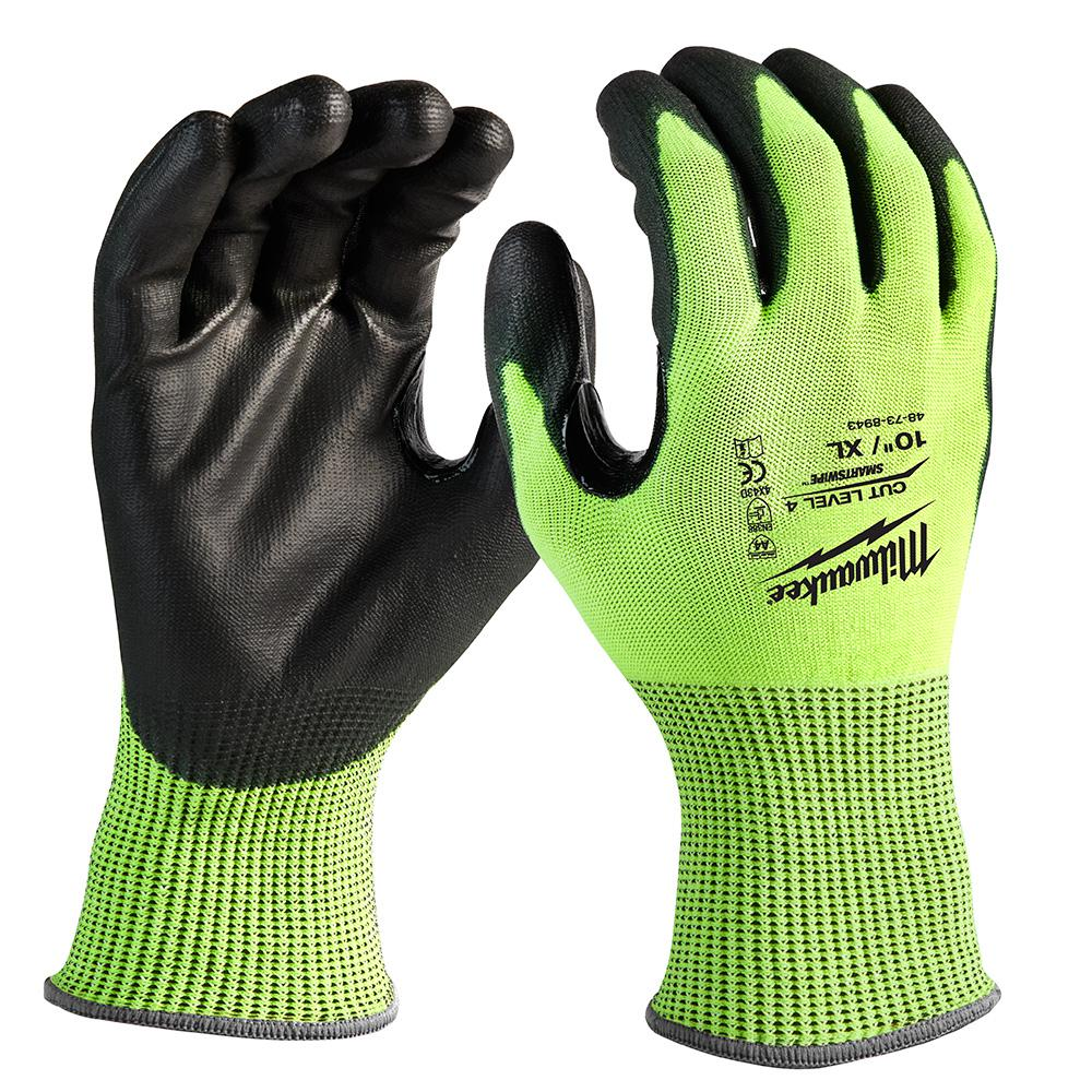 3PK Cut Resistant Work Safety Gloves High Performance Level 5 Protection USA
