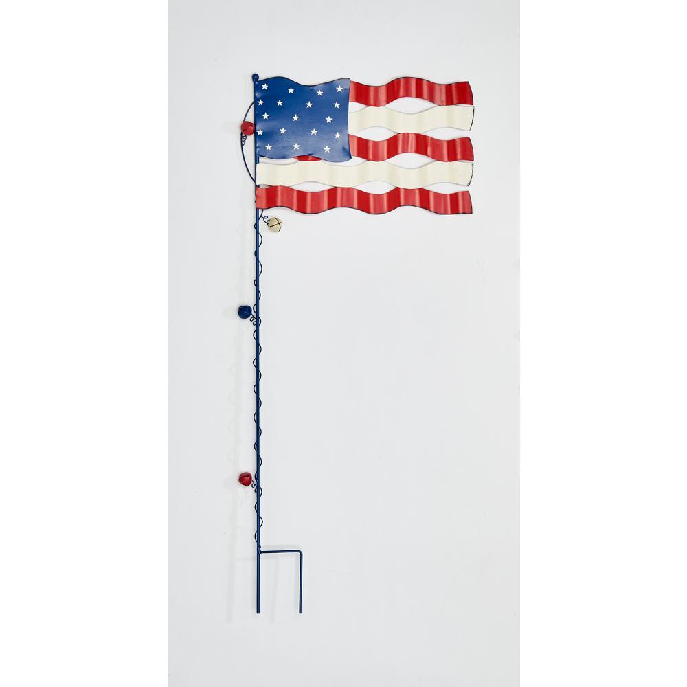 36 in. Americana Flag Stake
