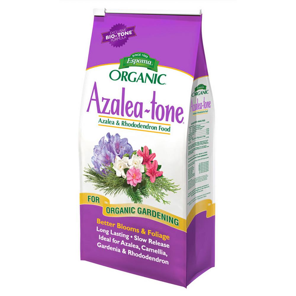 Espoma 8 Lbs Organic Azalea Tone Fertilizer 100534325 The Home Depot