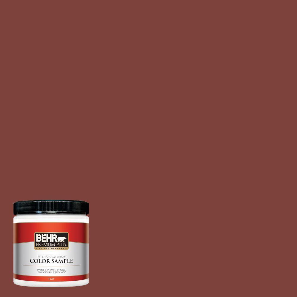 BEHR Premium Plus 8 oz. #S-H-160 Sly Fox Interior/Exterior Paint Sample