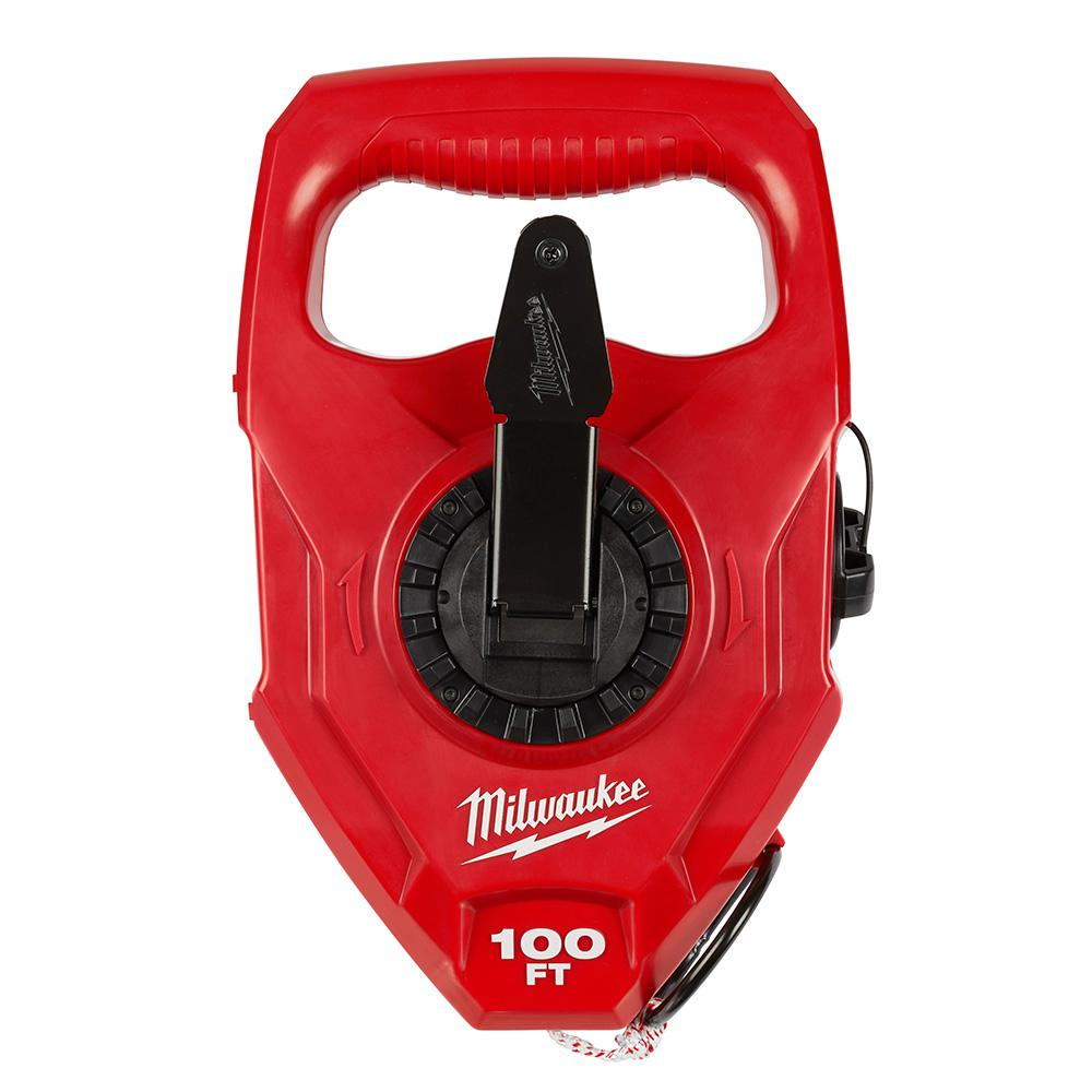 Milwaukee 100 ft. Extra Bold Large Capacity Chalk Reel