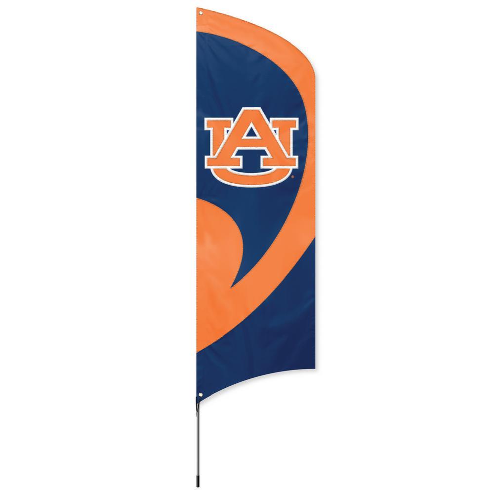 Auburn Tigers Tall Team Flag