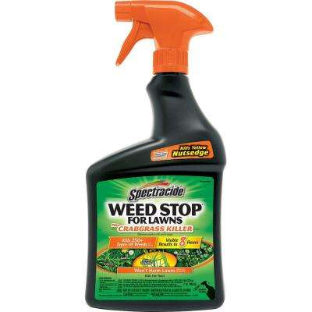 Weed Stop 32 oz. Ready-to-Use Plus Crabgrass Killer Sprayer