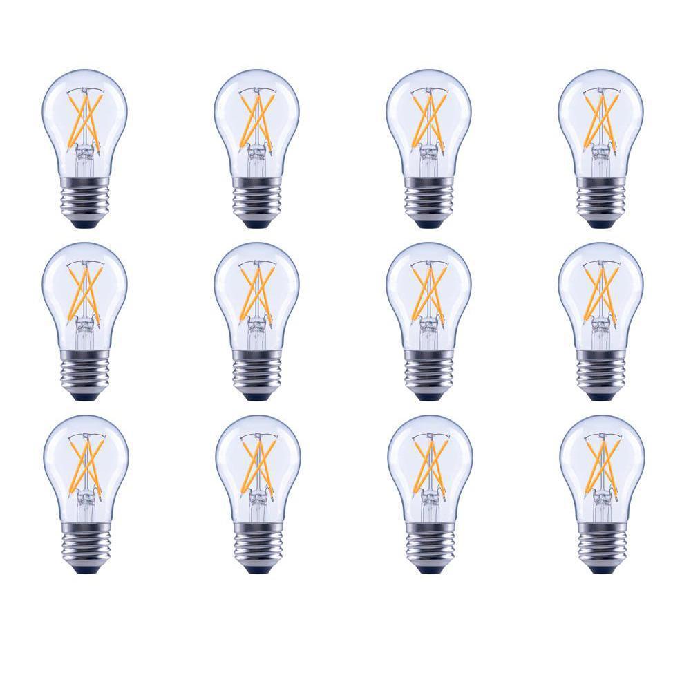 12 Ecosmart A15 Light Bulbs Lighting The Home Depot