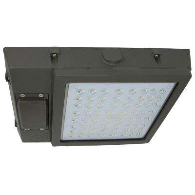 48-Watt Bronze Integrated LED Outdoor Garage Area Light