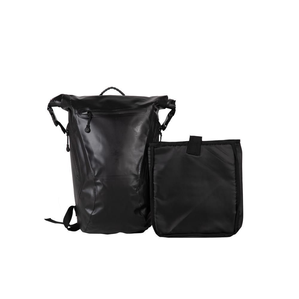+3. Body Glove Advenire Waterproof 6 in. Black Vertical Roll-Top Backpack 306db96c1fed9