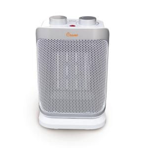10 in. 750/1500-Watt 3 Settings Electric Portable Compact Oscillating Ceramic Space Heater