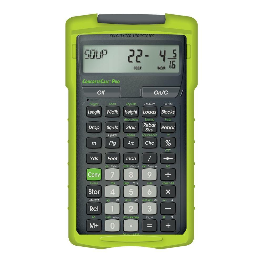 ConcreteCalc Pro Calculator
