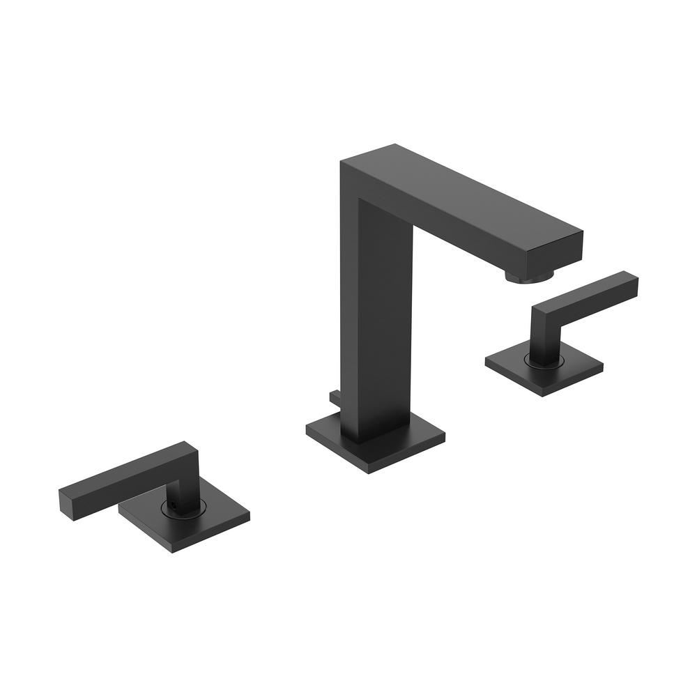 Symmons Duro 8 In Widespread 2 Handle Bathroom Faucet With Pop Up