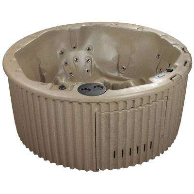 Haven 5-6 Person 20 Jet Standard Hot Tub Cobblestone PLUG and PLAY