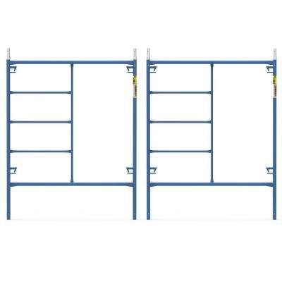 Saferstack 6.4 ft. x 5 ft. Mason Scaffold Frame (2-Pack)