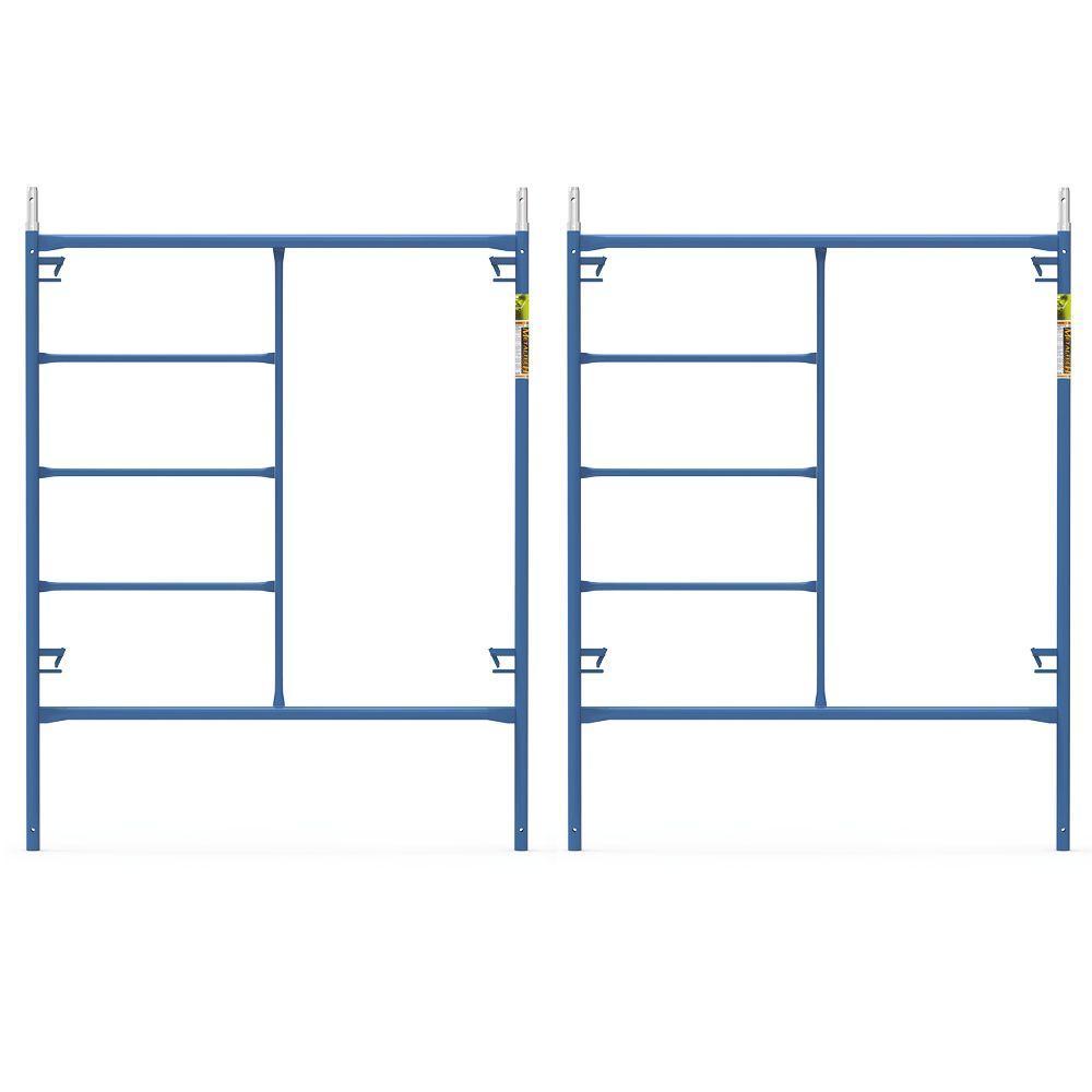 Saferstack 6.4 ft. x 5 ft. Mason Scaffold Frame (2-Pack)