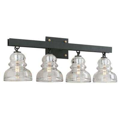 Menlo Park 4-Light Deep Bronze Vanity Light