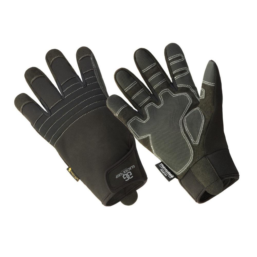 Glacier Grip Premium High Dexterity Thinsulate Lined Glove, 100% Waterproof