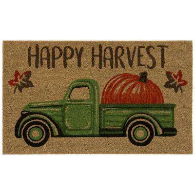 Prize Pumpkin 18 in. x 30 in. Door Mat