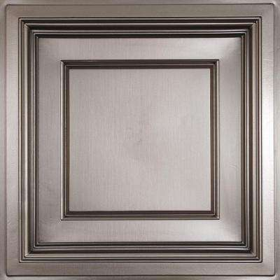 madison faux tin 2 ft x 2 ft layin coffered ceiling panel