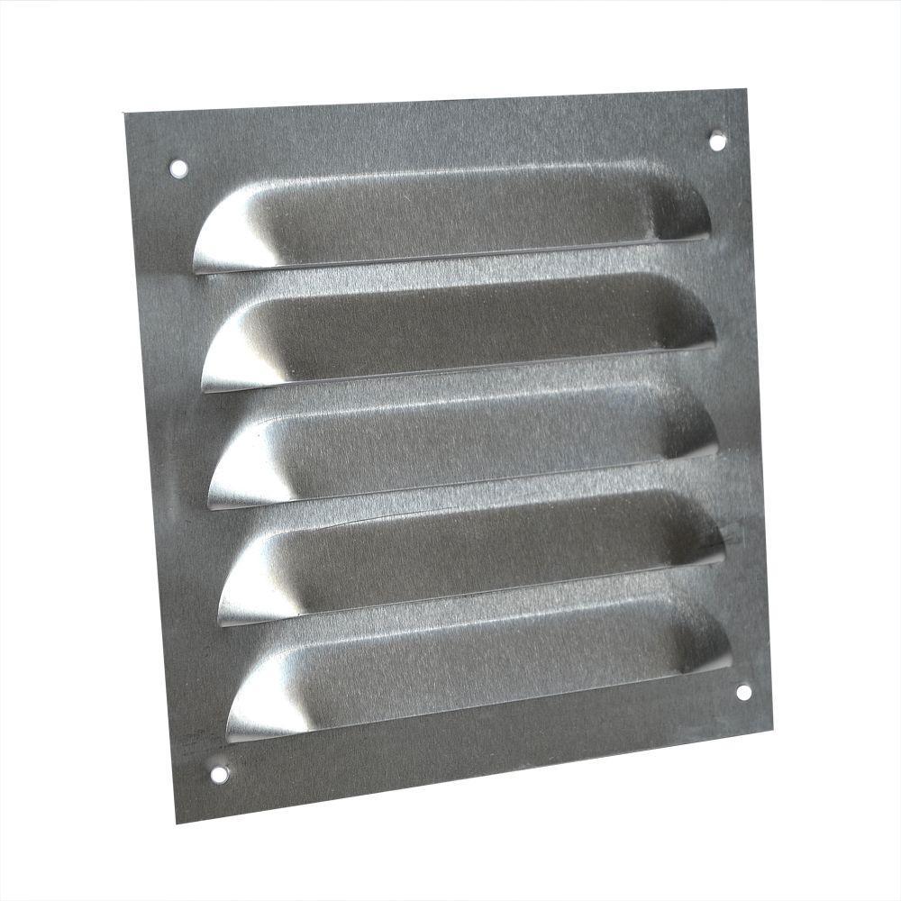 6 in. x 6 in. Aluminum 0.020 H14 Louver