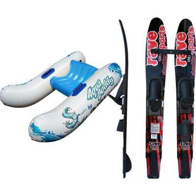 Jr. Skier 8.5 in. Water Ski Starter Package