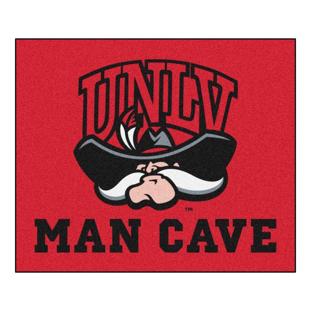 Man Cave Las Vegas : Fanmats ncaa university of nevada las vegas unlv red man