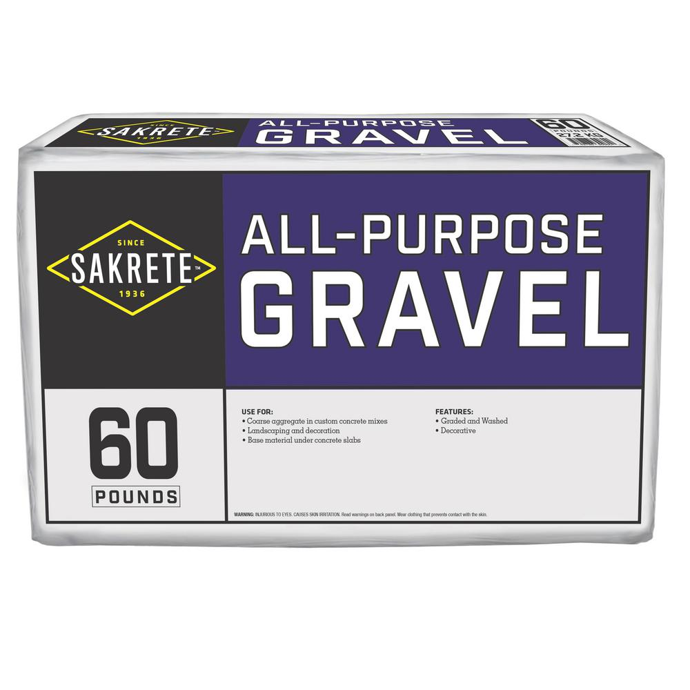 SAKRETE All-Purpose 60 lb. Gravel