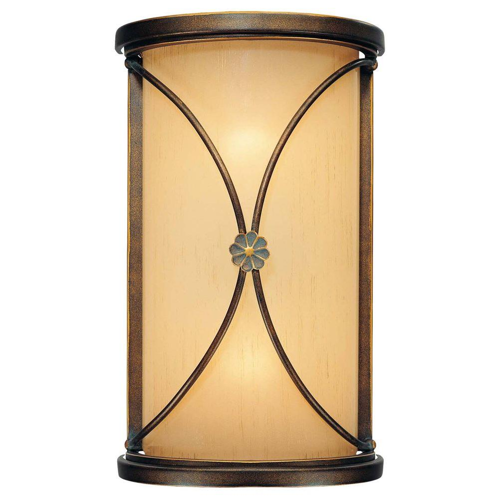 Minka Lavery Atterbury 2-Light Deep Flax Bronze Sconce