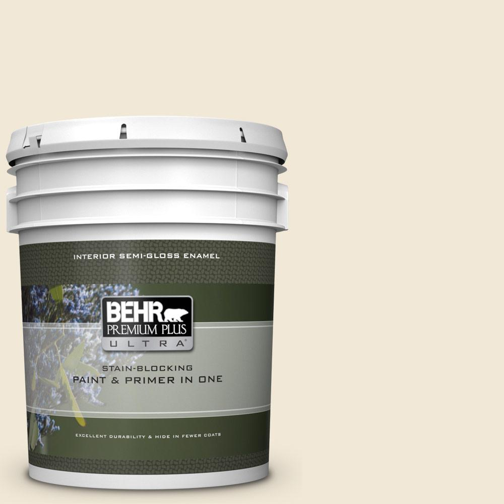13 Cottage White Semi Gloss Enamel Interior Paint And Primer In One