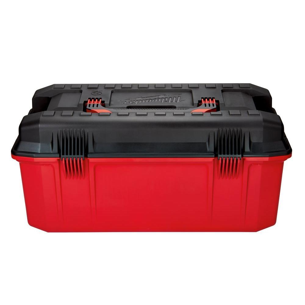 10d0c2614f4 Milwaukee Jobsite Work Tool Box Portable Hardware Supplies Storage Organizer  NEW 45242324941