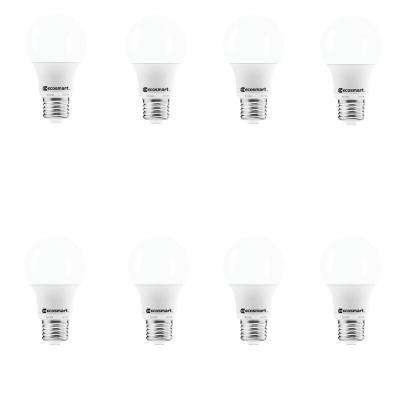 40-Watt Equivalent A19 Non-Dimmable LED Light Bulb Soft White (8-Pack)