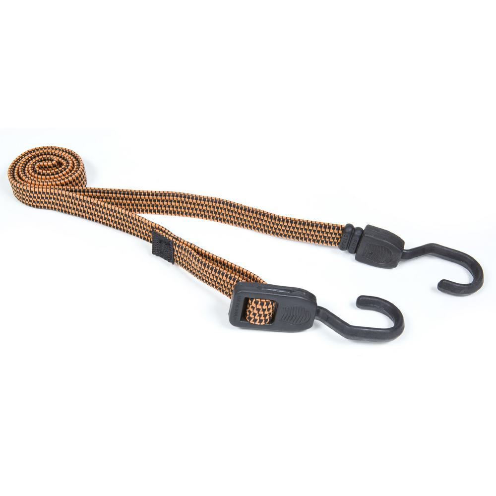 10 in. - 48 in. Adjustable Fat Strap Bungee 2 Pack