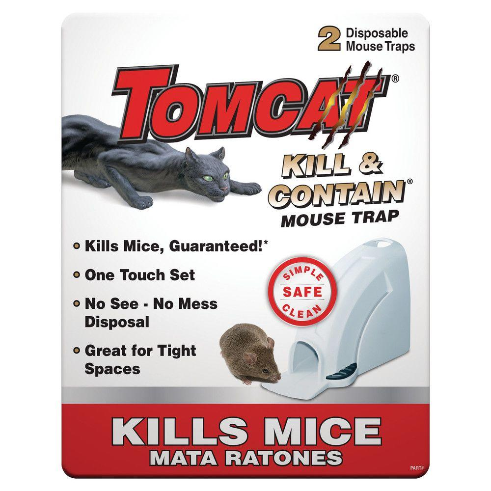 Tomcat Kill And Contain Mouse Trap (2-Pack)-0360610PM