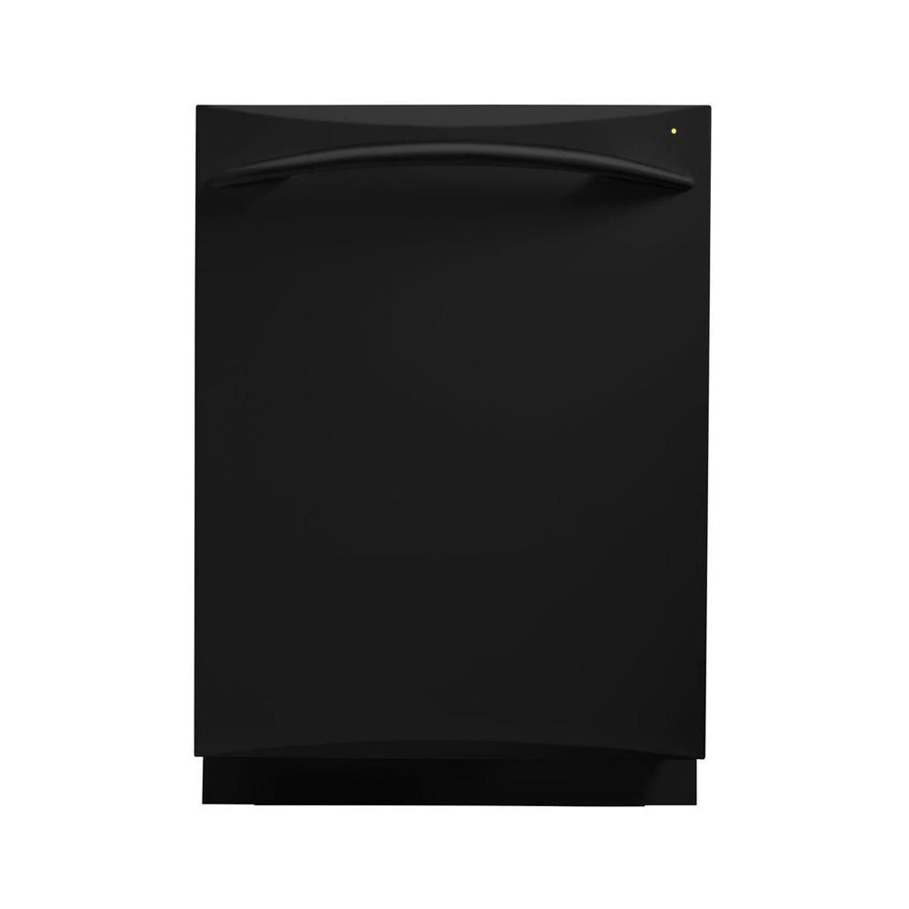 GE Profile 24 in. Top Control Dishwasher in Black with Stainless Steel Tub