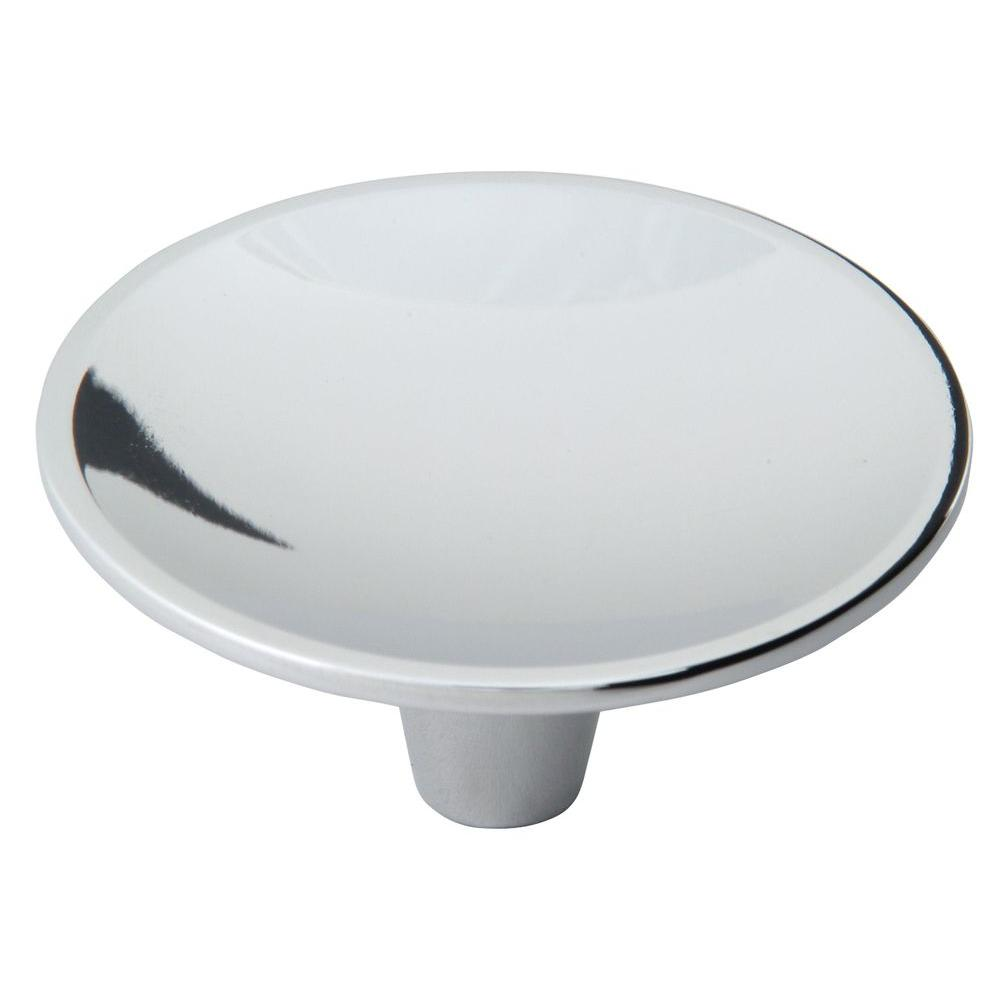 Dap Collection 2-1/2 in. Polished Chrome Round Cabinet Knob