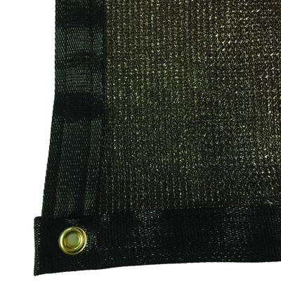 7.8 ft. x 30 ft. Brown 88% Shade Protection Knitted Privacy Cloth