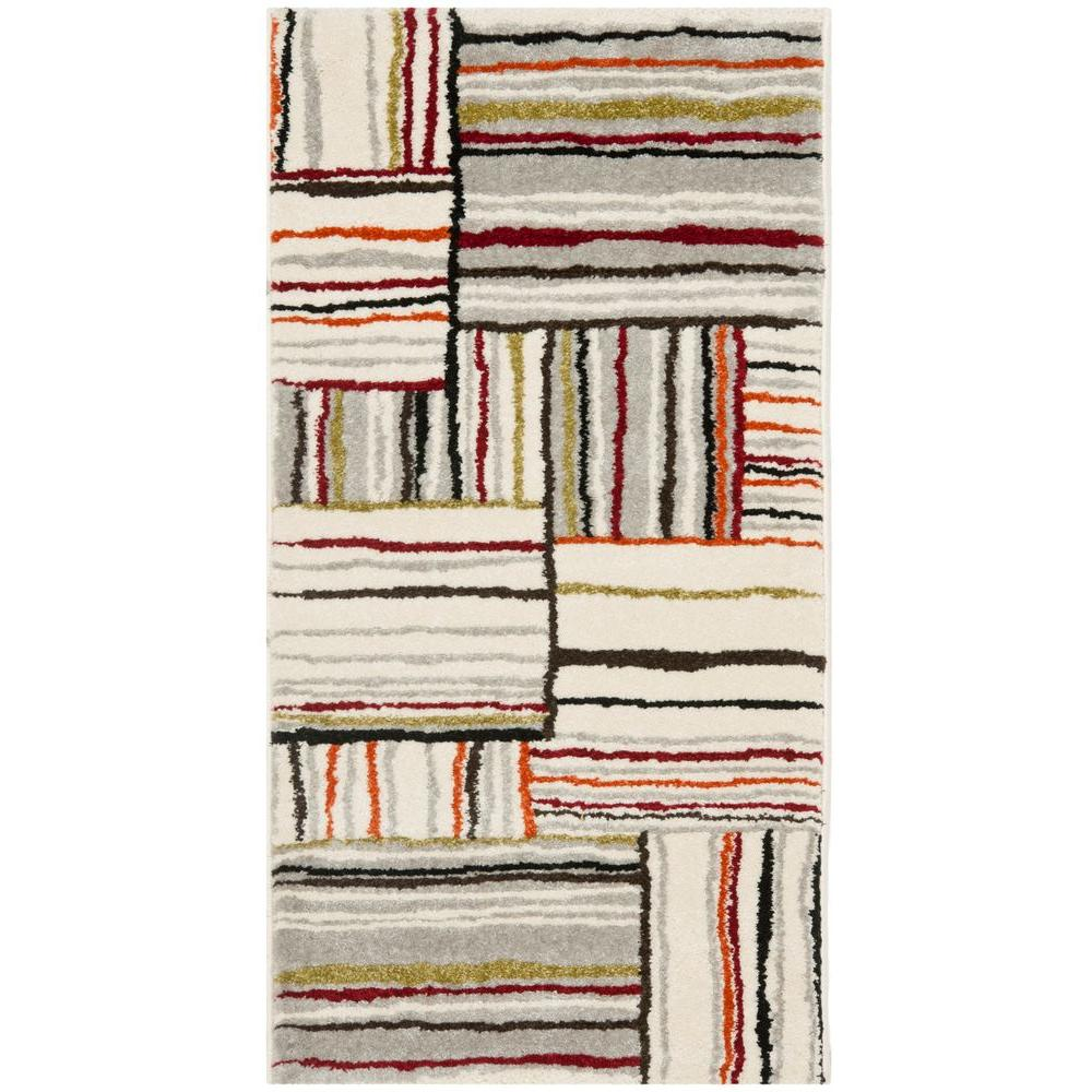 Safavieh Porcello Ivory 2 Ft X 3 Ft 7 In Area Rug