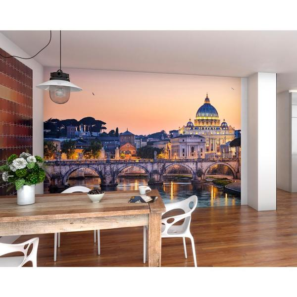 St. Peters Basilica Rome Wall Mural