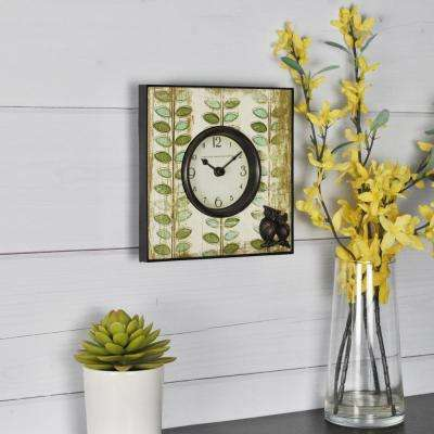 6 in. H Hoot Tabletop Clock