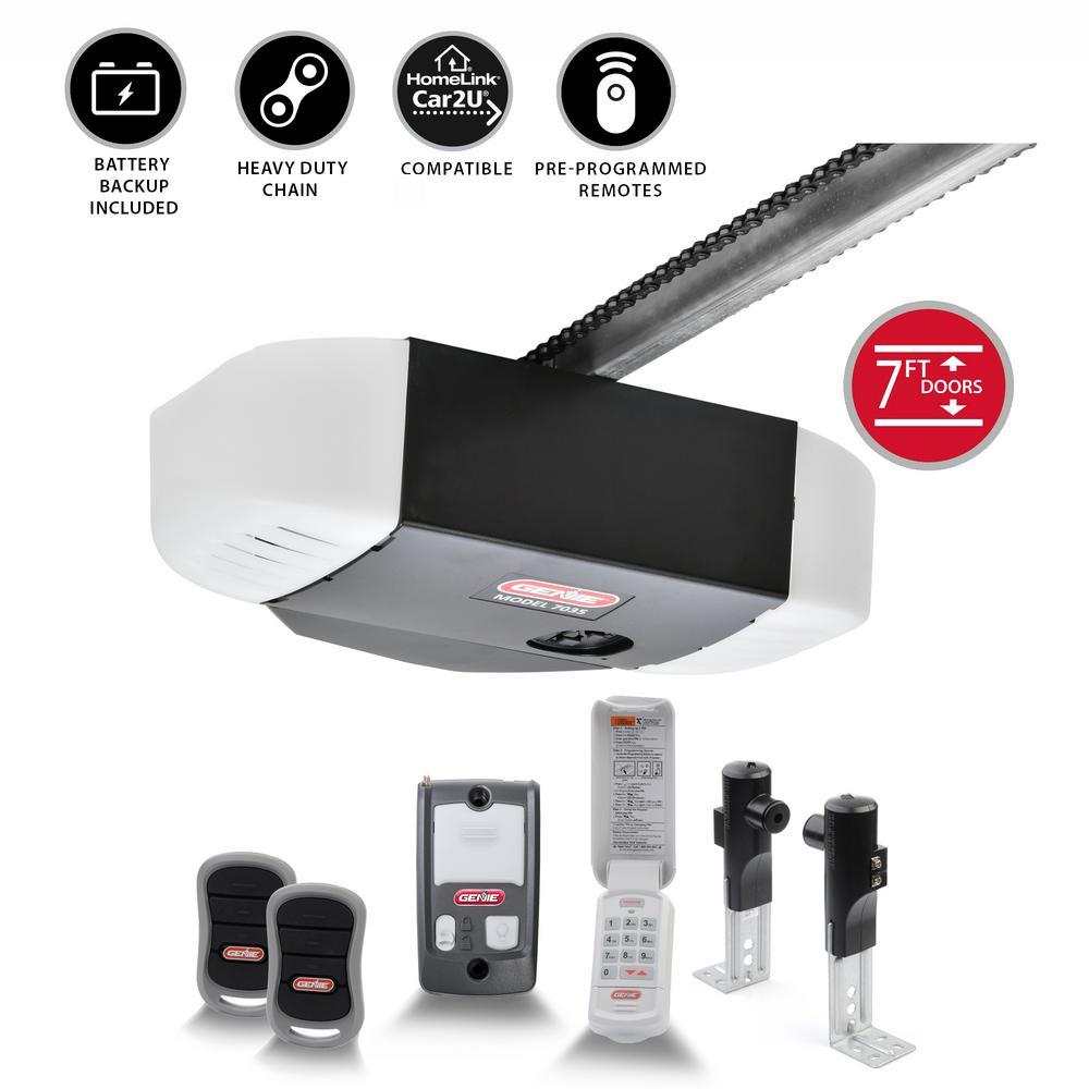 ChainDrive 750 3/4 HPc Durable Chain Drive Garage Door Opener with Battery Backup