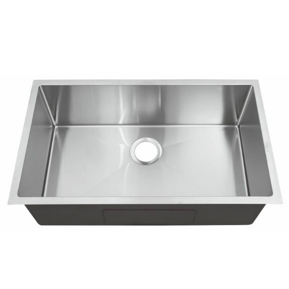 Stainless Steel Kitchen Sinks Single Bowl   Gal