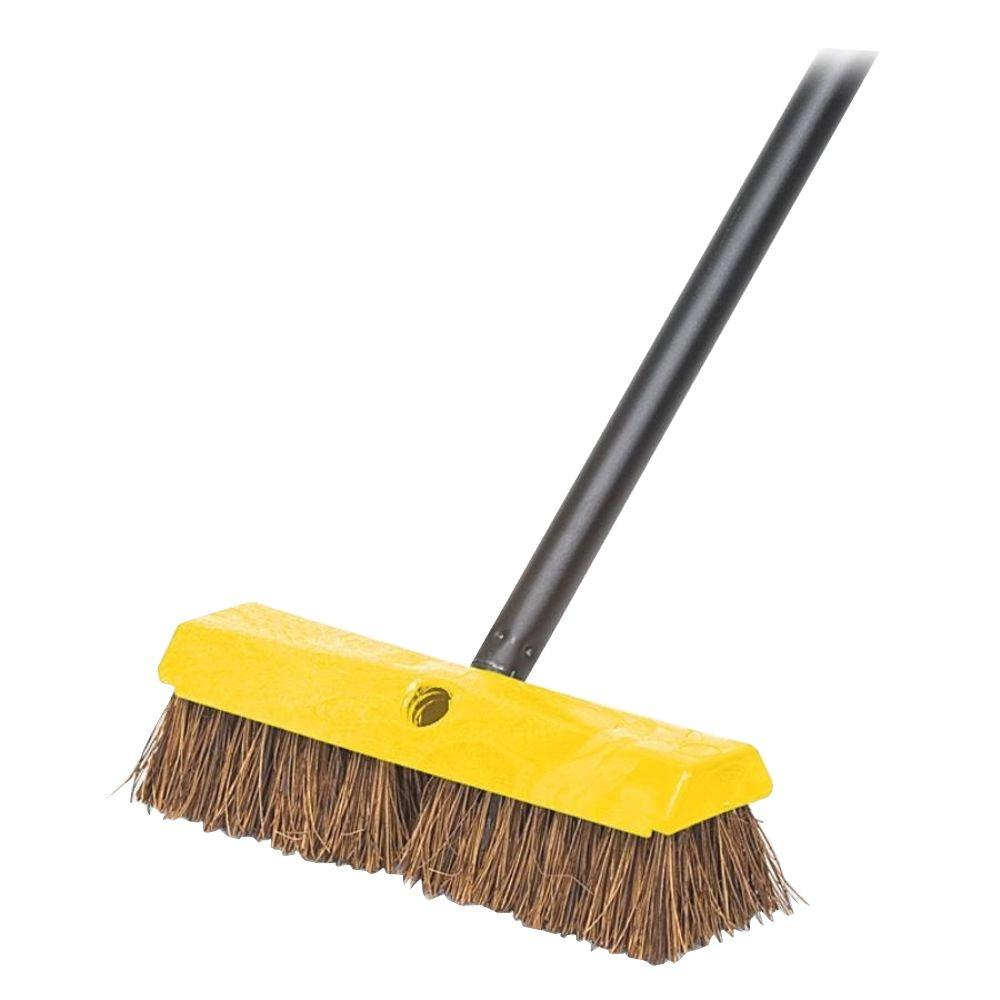 Rubbermaid 10 in. Rugged Deck Brush