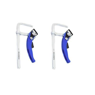 7 in. x 2-3/8 in. Quick Release Ratcheting Table Clamp for MFT and Guide Rail System (2-Pack)